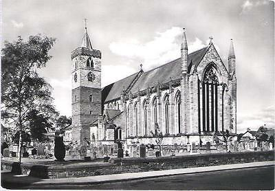 Dunblane, Stirling - Cathedal - Ministry of Works real photo postcard c.1960s
