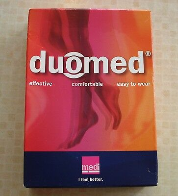 Duomed Compression Stockings Class 1 Knee Length Made In Germany Open Toe Small