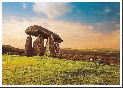 Nevern, Pembrokeshire - Pentre Ifan Burial Chamber stones - postcard by Origins