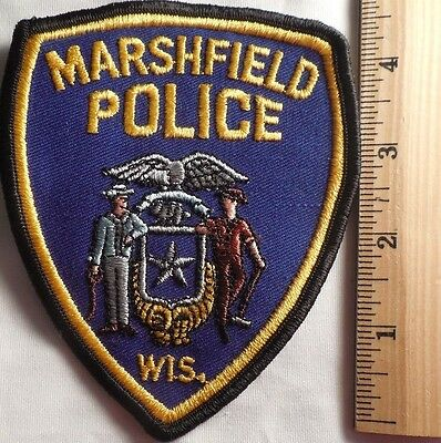 Marshfield Wisconsin Police Patch (Highway Patrol, Sheriff, Ems, State)