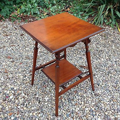 Antique Edwardian Mahogany Occasional Table Side Table c.1900