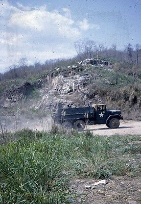 Vietnam Slide- Army GI w/2nd Batt 16th Inf 1ST INFANTRY DIVISION collection #47