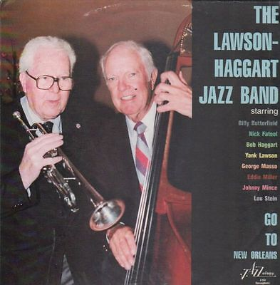 The Lawson-Haggart Jazz Band Go To New Orleans NEAR MINT Jazzology Vinyl LP