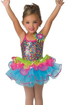 New Costume Gallery #15103 ballet tap tutu dance pageant large child 12-14