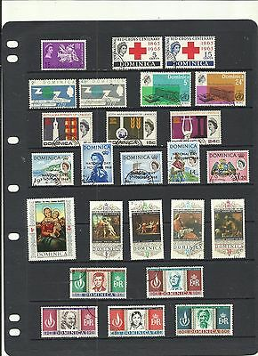 Dominica.  1963 - 1968 . Used  Selection .
