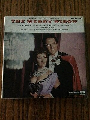 The Merry Widow On Reel To Reel Tape