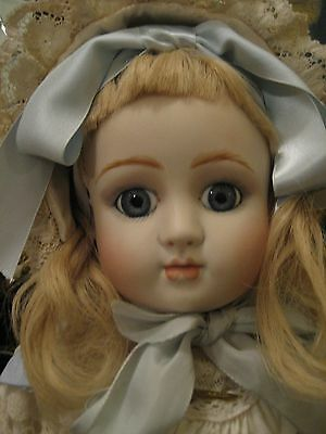"Antique French Jules Steiner Series A Bisque Doll Head Only Repro Makes 20"" Bebe"