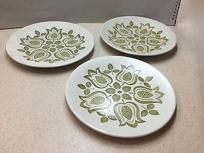 3 x Vintage J&G Meakin Maidstone 'Tulip Time'  plates - 7 inches