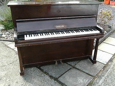 Challen Upright Quality  Overstrung Piano