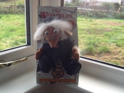 The Wombles Great Uncle Bulgaria New Boxed Vintage By Golden Bear