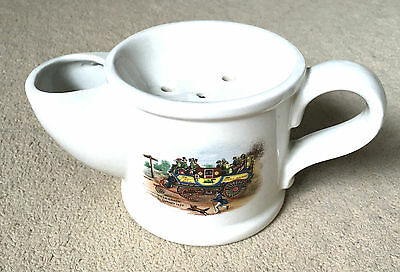 Wade Steam Coach by Gurney'1827 Shaving Cup has a crack in handle