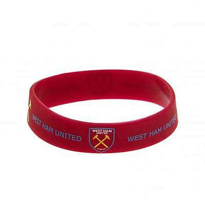 West Ham United F.C. Silicone Wristband OFFICIAL LICENSED PRODUCT