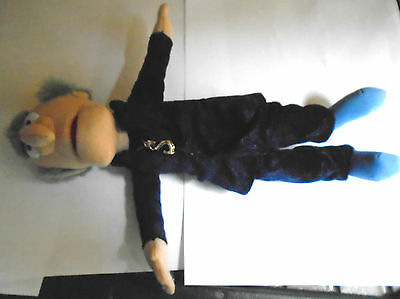 """Jim Henson Sababa Toys Muppet Statler- 11"""" High Soft Toy, with Tag"""