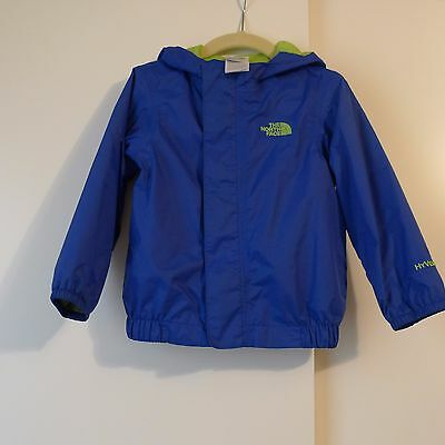 Toddler Baby Boy Girl THE NORTH FACE Hyvent Rain Coat Jacket 18 - 24 months Blue