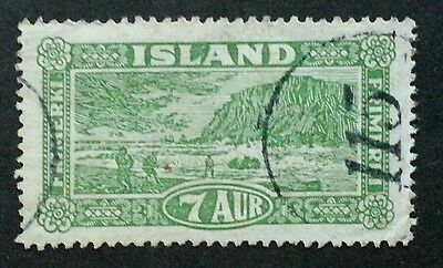 ICELAND Scarcer Numeral Cancel 115