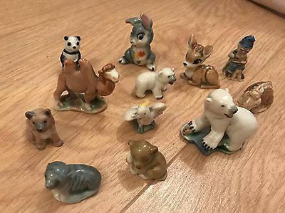 Collection Of Wade Figures/ Whimsies Some Very Early