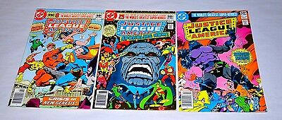 Justice League Of America 183 184 185 Darkseid Lot Capital City Collection