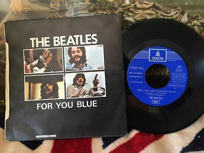 The Beatles Long And Winding Road Spain Spanish Single