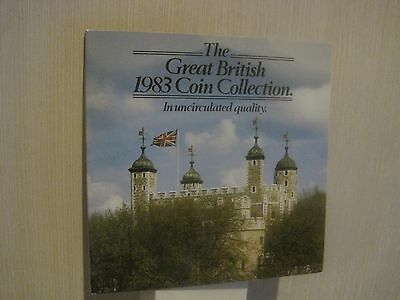 Uncirculated Quality The Great British Coin Collection Dated 1983  ~ CHRISTMAS
