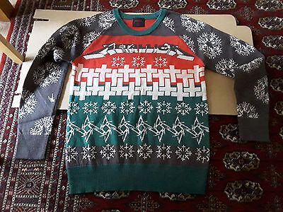 Metallica Christmas Jumper Master of Puppets new size Large