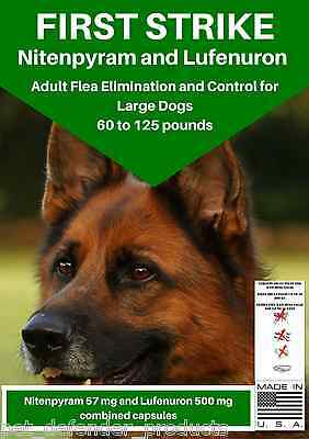 Flea Killer and Control, high quality, for LARGE Dogs, 6 Capsules