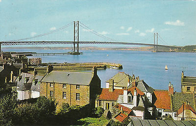 The Forth Road Bridge From Village, SOUTH QUEENSFERRY, West Lothian
