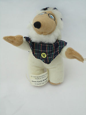McDonalds Soft Toy Womble Great Uncle Bulgaria Collectors