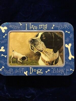 Pointer Dog Note Card Set + Tin/Framed Box