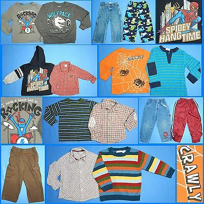 15 Piece Lot Nice Clean Boys Size 3T 3 Fall School Winter Everyday Clothes FW163