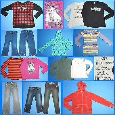 15 Piece Lot Nice Clean Girls Size 16 Fall School Winter Everyday Clothes FW157