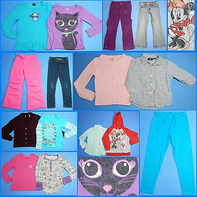 15 Pc. Lot of Nice Clean Girls Size 7 Fall School Winter Everyday Clothes FW149