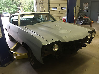 1970 Chevrolet Chevelle  1970 CHEVELLE PROJECT CAR ,95 % RUST FREE BODY