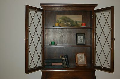 Pine Secretary with chair, Old, Well Made, Lots of Storage Space!
