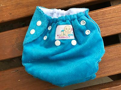 4 x New Bubble Bubs Candies One Sized All In Two Cloth Nappies with Inserts