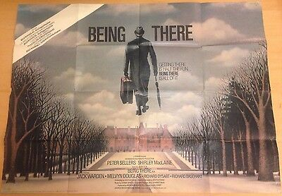 Being There, Original 1979 British Quad Movie Film Poster, Peter Sellers