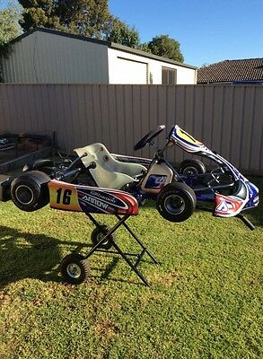 Arrow X1 Rolling Go Kart Chassis