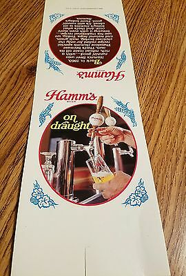 Vintage Hamm's Beer Olympia Brewing Company Olympia St.Paul USA ADVERTISING