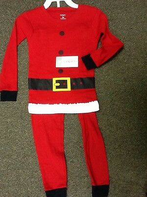 Brand New Two Piece Carters Outfit Christmas Santa Baby Toddler Infant 3 T