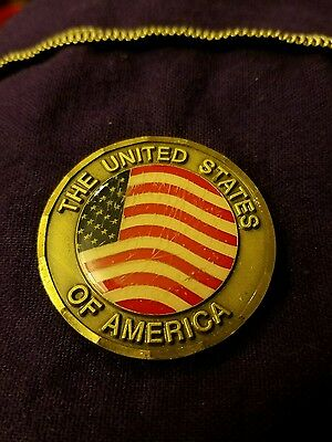 United States of America Challenge Coin Pledge of Allegiance