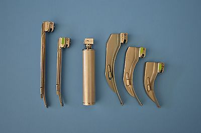Sun-med Laryngoscope Intubation Set Mac and Miller Blades and handle