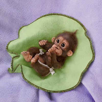 LOVE YOU BUNCHES CUDDLY CUTIES MONKEY DOLL BABY DOLL by CINDY SALES