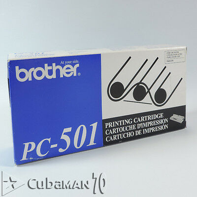 One Brother PC-501 Print Cartridge - 150 Pages - New in Original Box