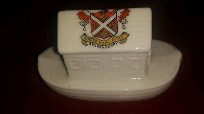 China Crestedware Noahs Ark In Lovely Condition Abergavenny Wales