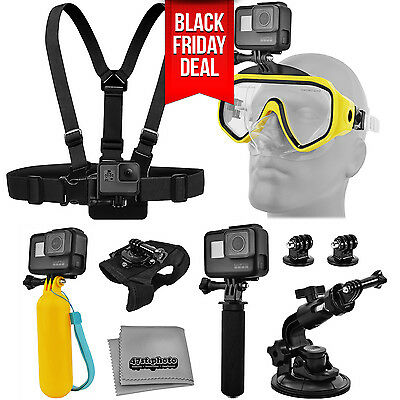 Water Sports Accessories for GoPro HERO5 Black / Session / Compatible Cameras