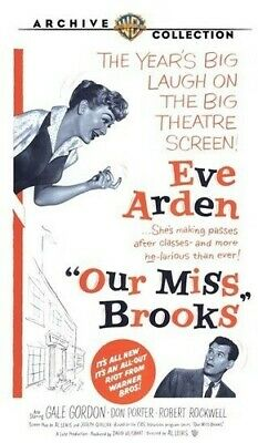 Our Miss Brooks DVD Region ALL BW/WS/DVD-R