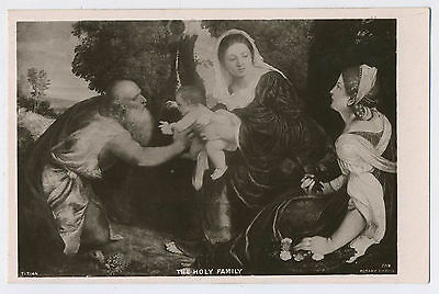 The Holy Family Vintage Edwardian Rotary Photo Postcard Y