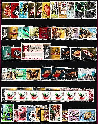Papua,new Guinea Stamps.