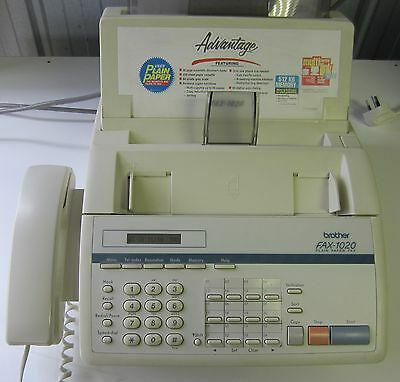 Brother Fax Machine Model 1020.