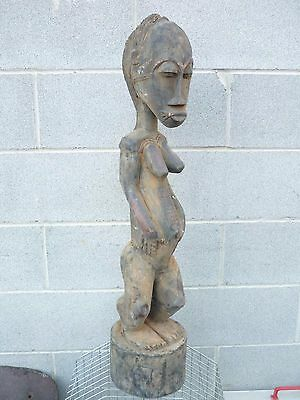 arte africana BAOULE' STATUE from COSTA D'AVORIO