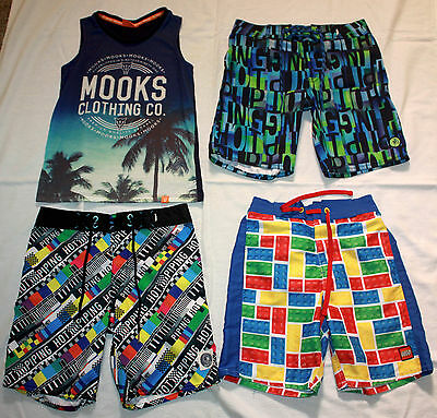 Bulk Boys Summer Clothes Clothing Size 6 and 7 (mainly size 7) 37 Pieces!!!